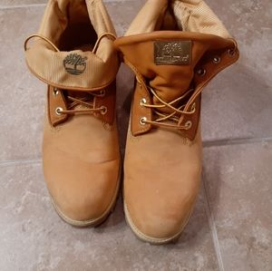 Mens Timberland Original Gold Roll Down Boots 9.5